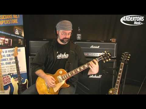 Marshall AFD100 Slash Signature Head demo