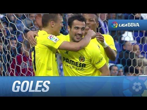 Todos los goles de RCD Espanyol (1-1) Villarreal CF - HD