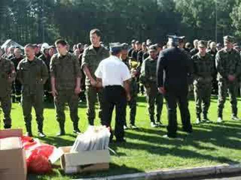 Powiatowe Zawody Sportowo - Pożarnicze OSP, Zabrzeg 2007