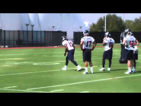 DeAndre Hopkins Houston Texans Rookie Mini Camp Drills