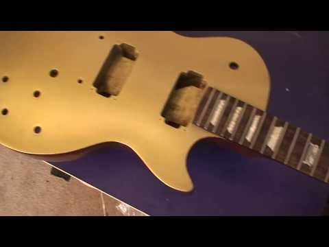 Refinished Gibson LPJ: Fiesty B!TCH Is Done! GoldTop