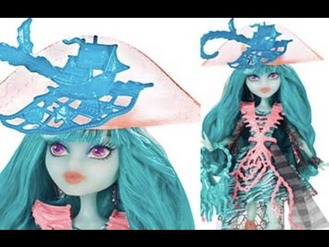 Monster High Haunted Pirate Doll Vandala Doubloons Review