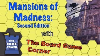 Mansions of Madness: Second Edition Review - with Board Game Corner