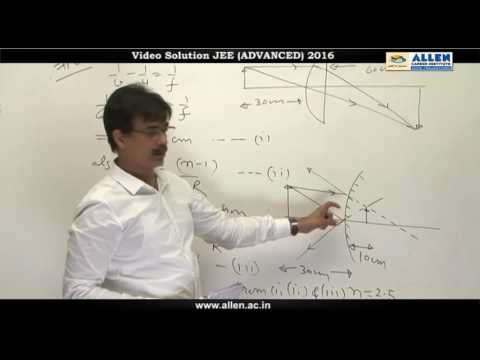 JEE Advanced 2016 Physics Solution Q. 7, 8, 9, 10 (Paper-1) Code-9