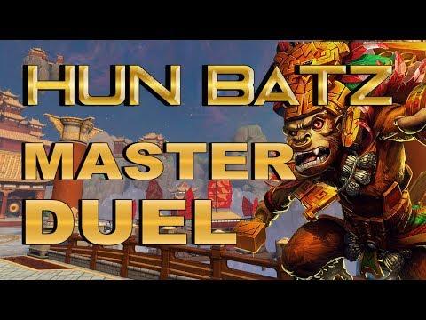 SMITE! Hun Batz, El mono salvaje no decepciona! Master Duel S4 #78
