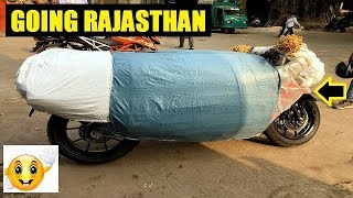 Modified Hayabusa Going Rajasthan By Courier ! Full Information ! BY MACK RIDER !