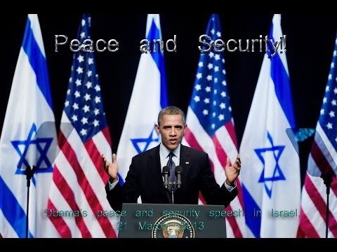 Headline: Why Is Barack Obama The Worlds Only Man Obsessed With Peace In Israel?‏