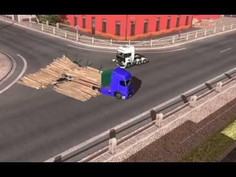Euro truck simulator 2 auto stop mod
