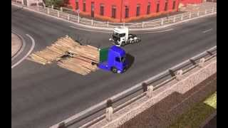 Euro Truck Simulator 2 Molder Away Effect