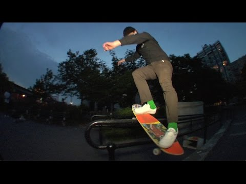 Gonz & Brad Cromer - Hang Up boardslide...