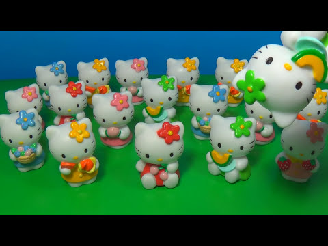 18 Hello Kitty surprise eggs!!! HELLO KITTY HELLO KITTY HELLO KITTY!