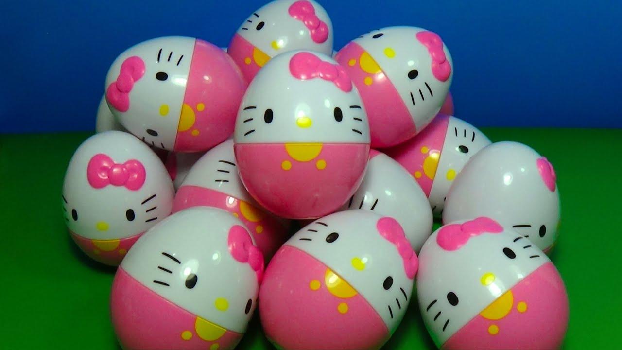 18 hello kitty surprise eggs hello kitty fof kids mymilliontv youtube - Hello kitty hello ...