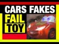 FAIL TOYS Disney Pixar Cars FAKES Knockoff Toys Review by Mike Video