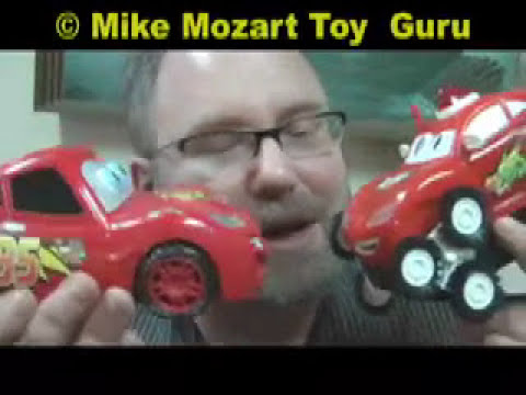 FAIL TOYS Disney Pixar Cars FAKES Knockoff Funny Video Fail Toys Mike Mozart JeepersMedia