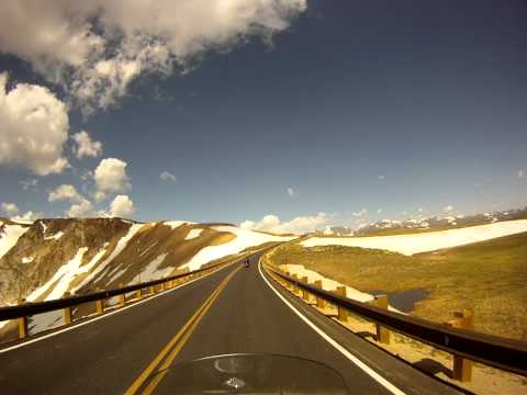 Ride of a lifetime  - Riding the Beartooth Pass.MP4