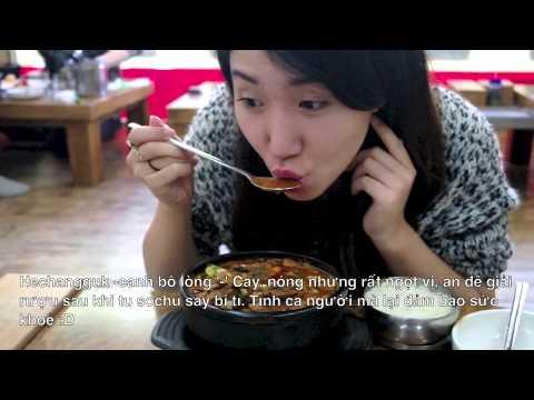 Canh xương giã rượu Hàn Quốc