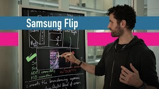"""Samsung Flip review 2hrs in: The 55"""" 4K whiteboard"""