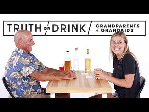 Grandparents & Grandkids Play Truth or Drink | Truth or Drink | Cut