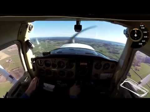PPL Training - 21st hour | My first solo flight ever! | Cessna 152