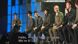 BTOB Debut and History: Grand Launching Show Talk part 4 eng sub