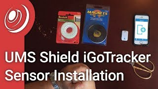 UMS Shield iGoTracker Sensor Installation
