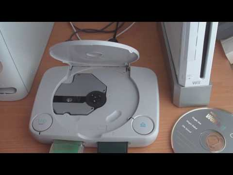 Play PS1 Backup discs     Double swap trick