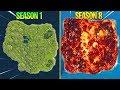 Evolution Of Fortnite Island (Season 1   Season 8)