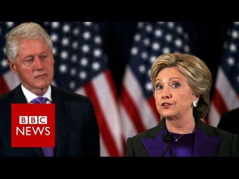 Hillary Clinton: 'It'll be painful for a long time' - BBC News