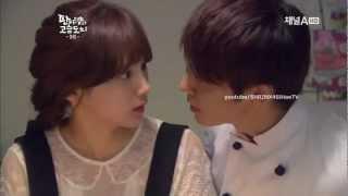 Donghae Kiss scene - Panda & Hedgehog ep9