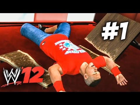 WWE 12 | Road To WrestleMania | Ep 1 | CENA GOT DESTROYED!!!