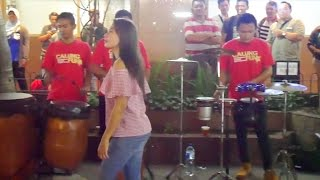 ANOMAN OBONG KOPLO - Skill Musiknya Makin Jago Bikin Goyang Pengamen Angklung Jogja Calung Funk