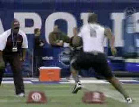 Scouting Combine Video of Kentwan Balmer.
