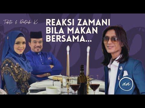 Zamani duduk semeja bersama Datuk Siti Nurhaliza & Datuk K #1