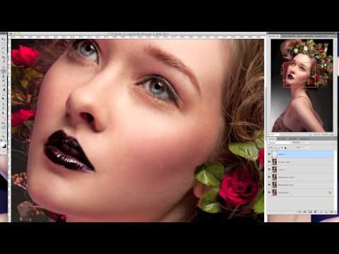 Beauty, Fashion & Portrait Retouching | Retouching techniques in Photoshop