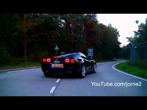 7x Corvette C6 Z06 Sound - 1080p HD Music Videos