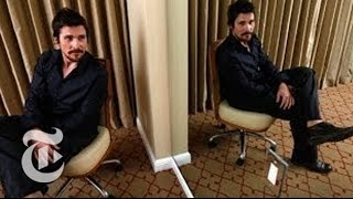 Oscars 2014 | Christian Bale Interview: Being Fat, Bald and Inspired in 'American Hustle'