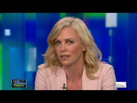 Charlize Theron tells Piers Morgan why she believes in gay marriage, ...