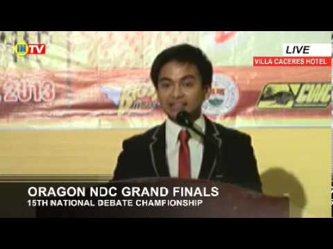 Oragon National Debate Championship Grand Finals