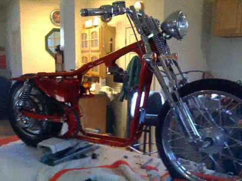 2001 Harley Davidson Springer Sportster Custom Video