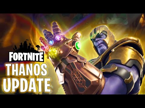 NEW FORTNITE UPDATE - INFINITY GAUNTLET - PLAYING AS THANOS (SPECIAL GAME MODE) HINDI