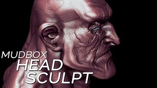 Mudbox HEAD SCULPTING tutorial