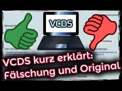 VCDS kurz erklärt. Fälschungen und Original