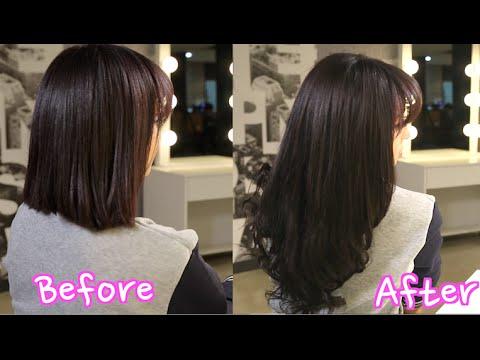 Korean Clip in Hair