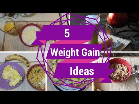 5 Healthy Weight Gain Breakfast Ideas 1,000+ Cal ::SkinnyGotCurves::