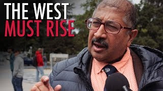 """Baloch Activist tells Tommy Robinson: """"The West Must Rise!"""""""