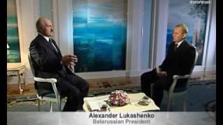 Belarussia President Alexander Lukashenko interview