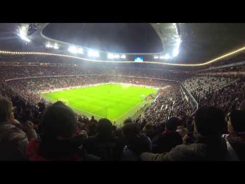 Allianz Arena, FC Bayern Munich-CSKA Moscow 10.12.14