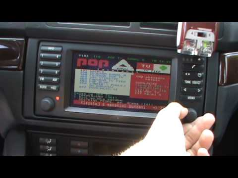 BMW 530d with Widescreen display Full in depth review(navigation.radio.Tv.teletext....)