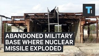 A nuclear missile exploded in 1960 at this abandoned NJ military base