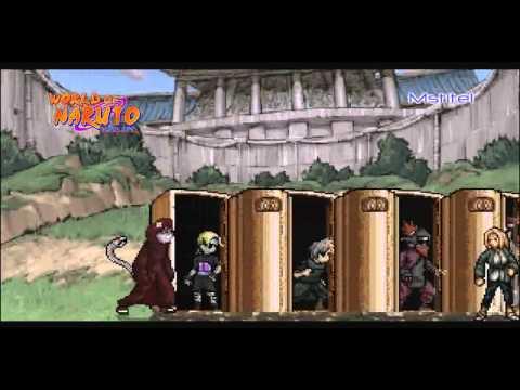 Naruto Shippuden:New Path | M.U.G.E.N 2012 (Трейлер)